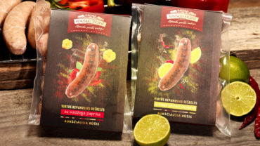 sausage grill packaging design